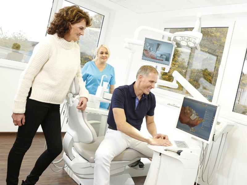 CEREC bei Wittekind: Zahnersatz in nur einer Sitzung