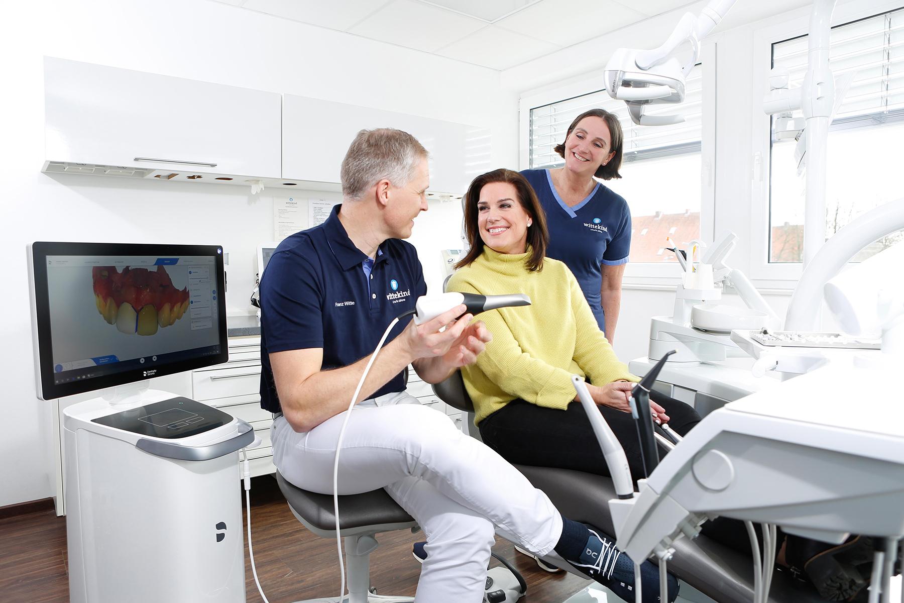 Computergestützte Zahnheilkunde / Cerec bei Zahnarzt Wittekind